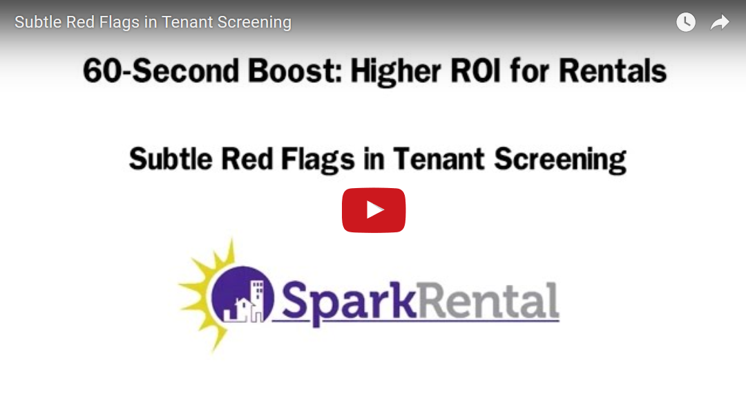 Beyond Credit Reports: Subtle Red Flags in Tenant Screening
