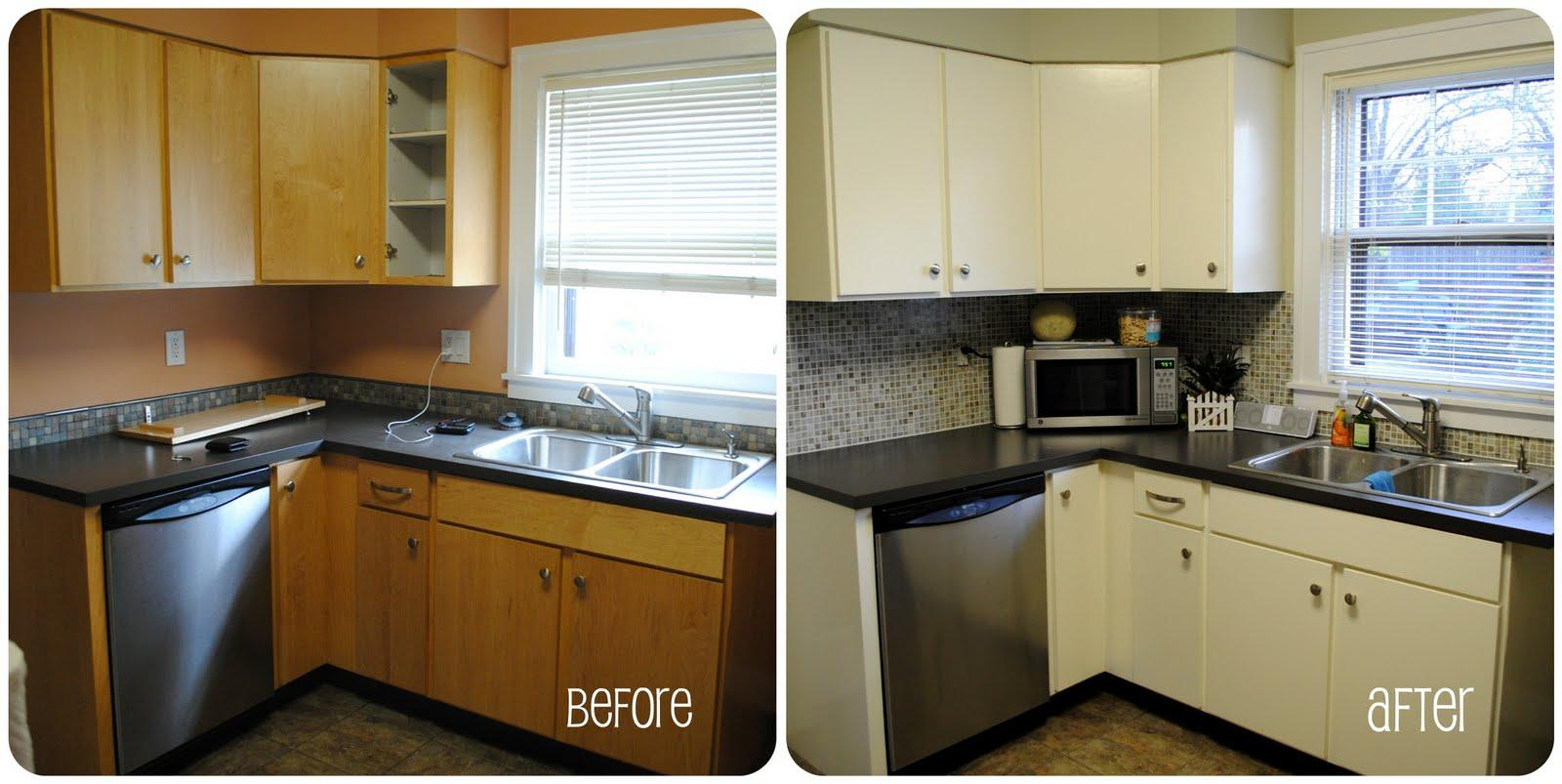 7 hacks to cheaply redo your property 39 s kitchen for Diy small kitchen remodel
