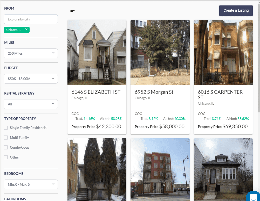 Property MarketPlace Mashvisor