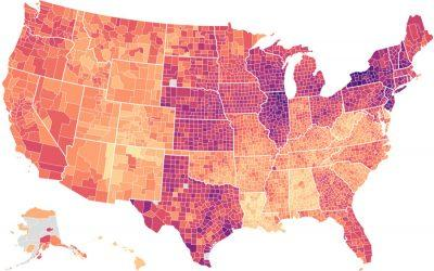 Property Taxes by State & County: Lowest Property Taxes in the US Mapped