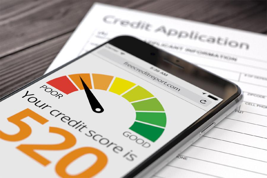 investment property loan with bad credit