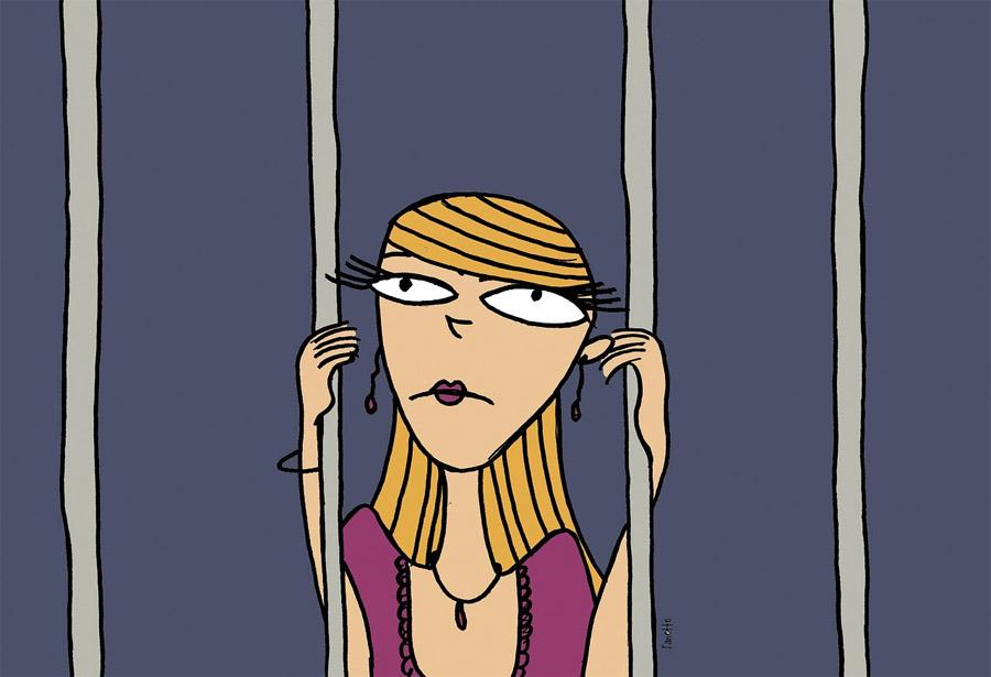 tenant in jail